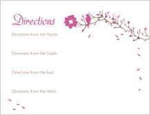 Direction - love birds