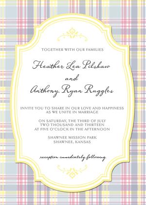 Wedding Invitation - Thoughtful