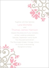Wedding Invitation - ironwork