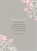 Save the Date Card - ironwork