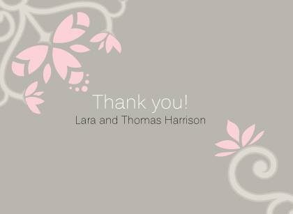 Wedding Thank You Card - Ironwork