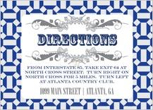 Direction - moroccan tile pentagons