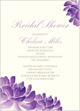 Wedding Shower Invitation - cactus orchid