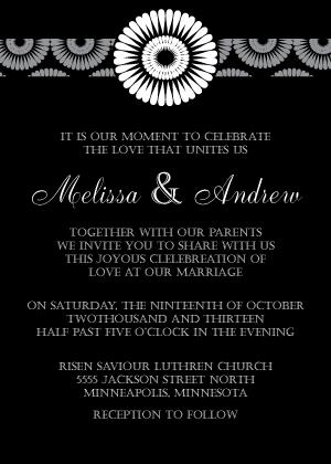 Wedding Invitation - Mum Wedding