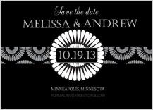 Save the Date Card - mum wedding