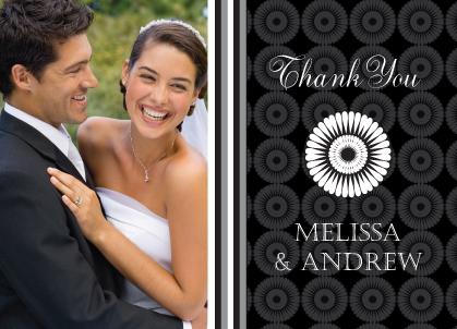 Wedding Thank You Card with photo - Mum Wedding