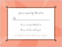 Response Card - sweet romance