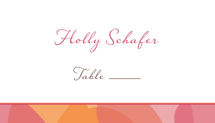 Place Card - Two of Hearts
