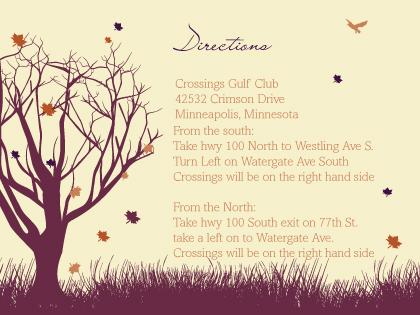 Direction - Fall Leaf