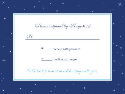 Response Card - Starry Night