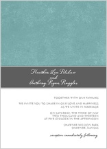 Wedding Invitation - strength