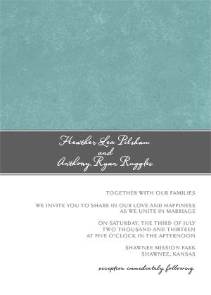 Wedding Invitation - Strength