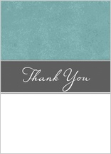 Wedding Thank You Card - strength