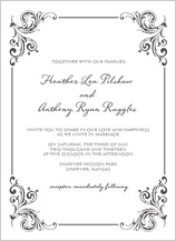 Wedding Invitation - soulmate