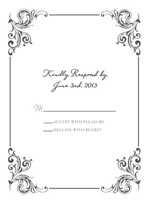Response Card - Soulmate