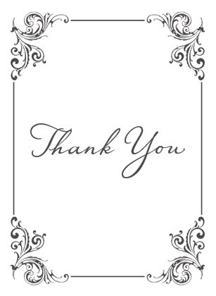 Wedding Thank You Card - Soulmate