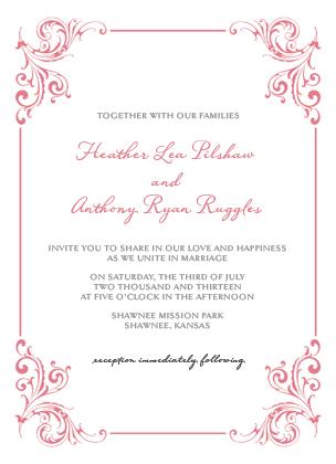 Wedding Invitation - Soulmate