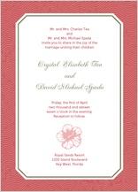 Wedding Invitation - paradise found