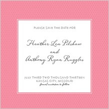 Save the Date Card - honey