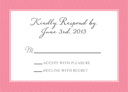 Response Card - Honey