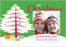 Christmas Cards - retro wishes