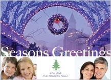 Holiday Cards - holiday lights at long wharf