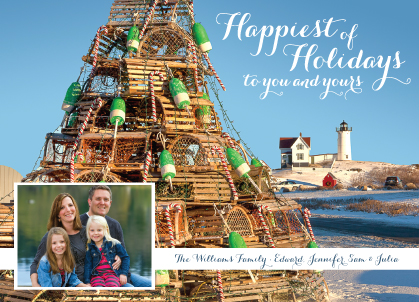 Holiday Cards - Holiday Lobster Pots