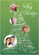 Christmas Cards - elegant holiday tree