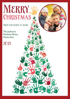 Holiday Cards - Handmade Holiday Tree