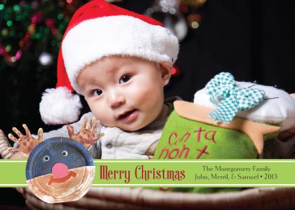 Christmas Cards - Happy Reindeer