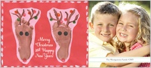 Christmas Cards - merry reindeer
