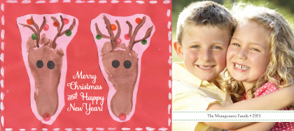 Christmas Cards - Merry Reindeer