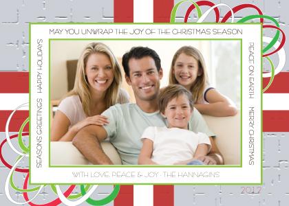 Christmas Cards - Christmas Gift and Bow