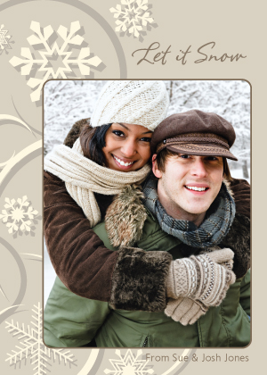 Holiday Cards - Let it Snow