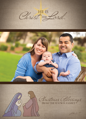 Christmas Cards - Holy Family