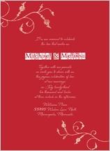 Wedding Invitation - in type