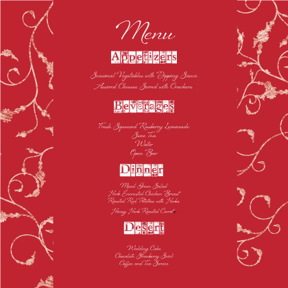 Menu - In Type