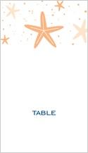 Place Card - modern starfish