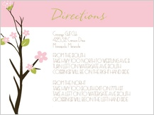 Direction - spring apple blossom