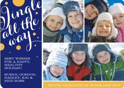 Holiday Cards - Jingle