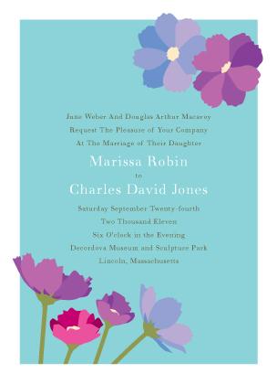 Wedding Invitation - Wildflowers