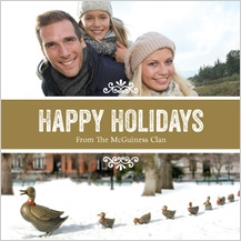 Holiday Cards - holiday ducklings