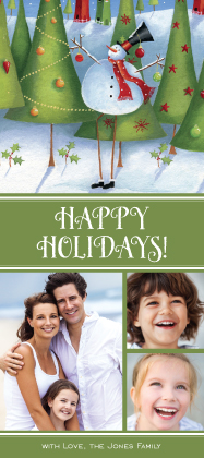 Holiday Cards - Holiday Forest
