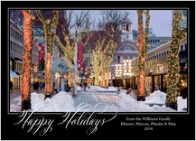 Holiday Cards - faneuil hall holiday stroll