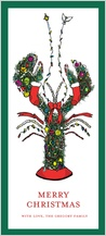Christmas Cards - holiday lobster