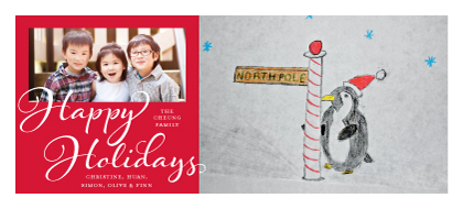Holiday Cards - North Pole Penguin