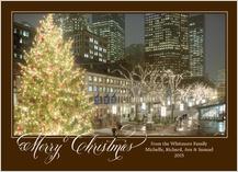 Christmas Cards - faneuil hall christmas tree