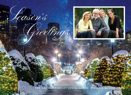 Holiday Cards - Walking in a Winter Wonderland
