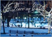 Christmas Cards - winter skating