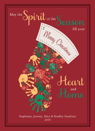 Holiday Cards - Heart and Home
